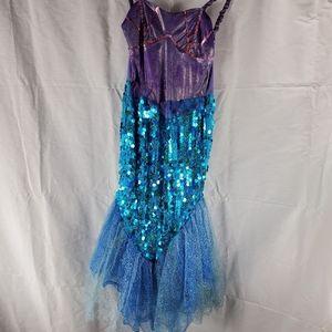 The girls medium  Size dress